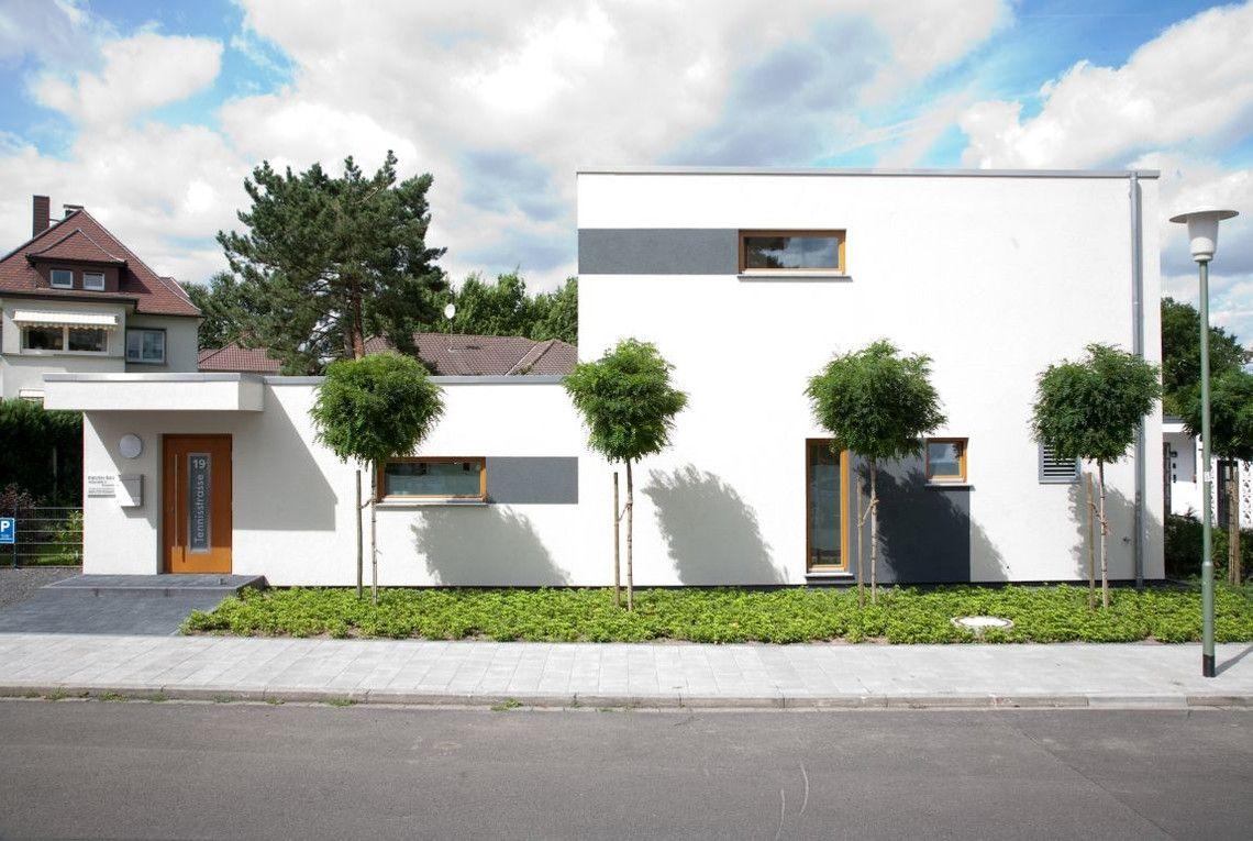 Garten Bauhausstil la strada standard grau maisons modernes strada and