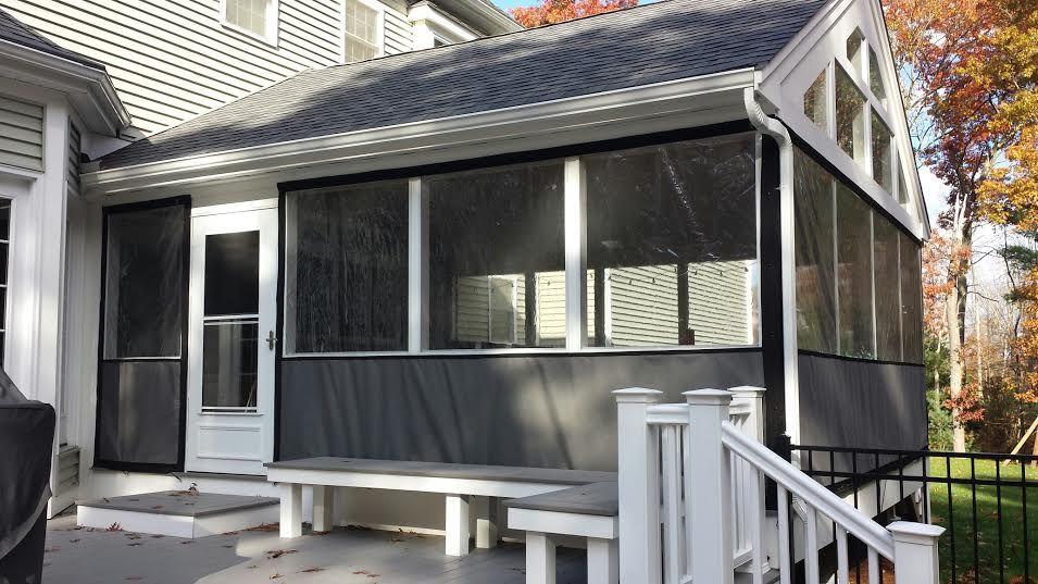 Plastic For Screen Porch Windows Clear Vinyl Patio Enclosures