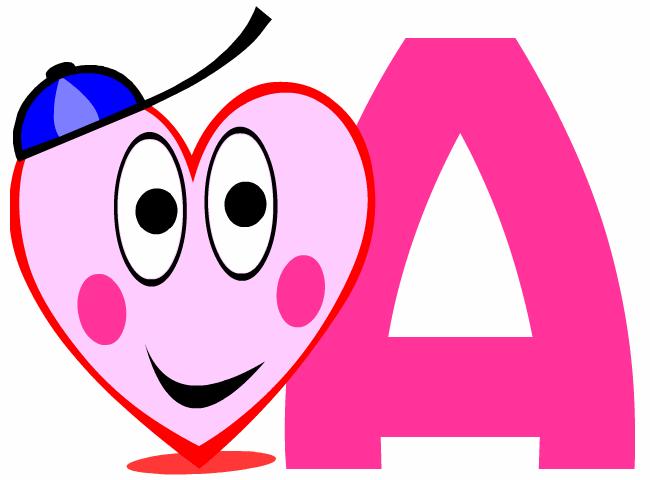 Alphabet Pour Enfants Lettre A à Imprimer Gratuit A Grande