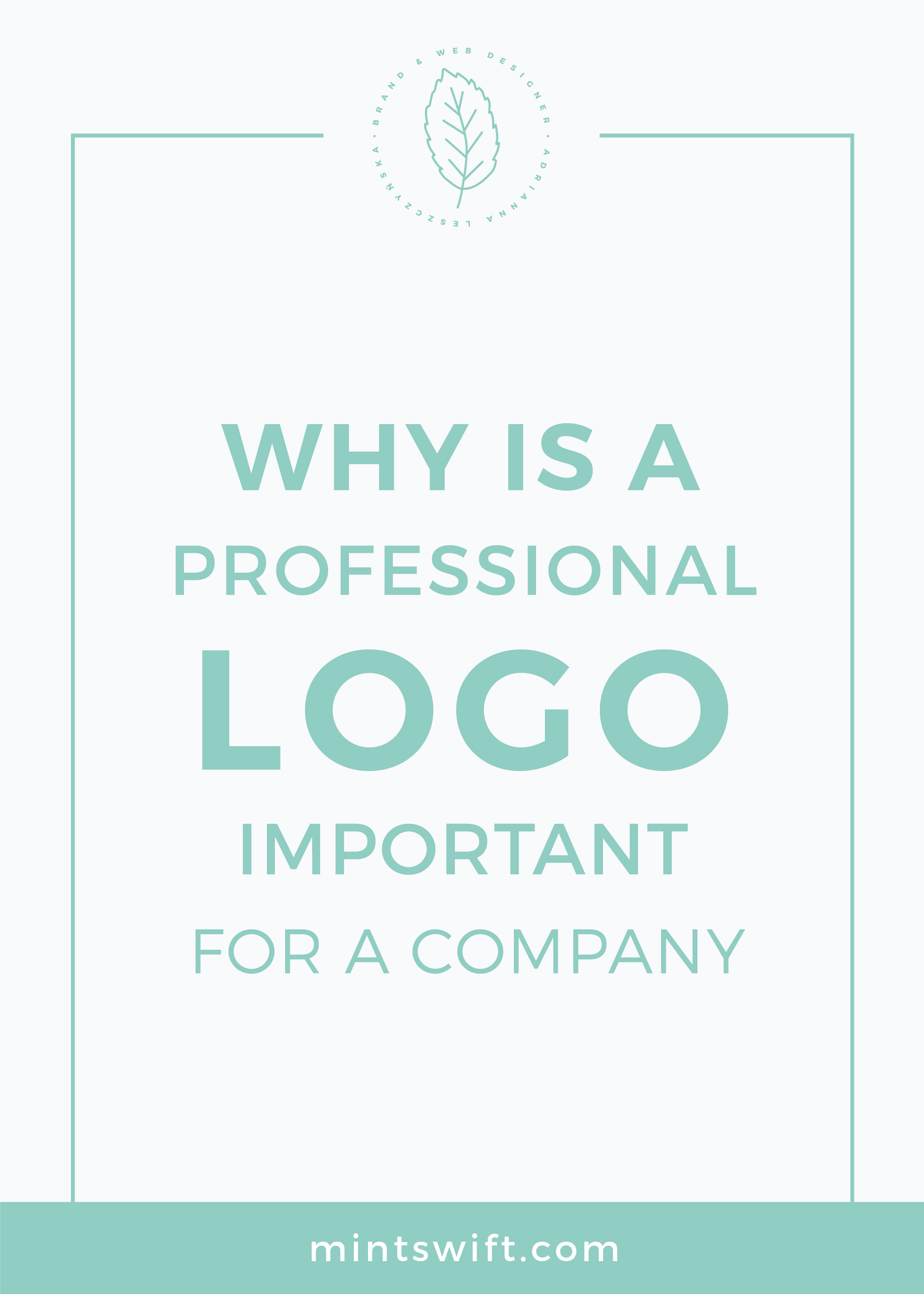 Why is a Professional Logo Important for a Company