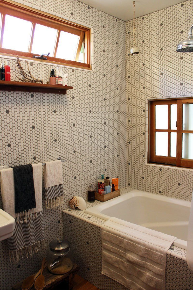 Alex & Sarah\'s Traveler\'s Home | Interiors, Bath and Bathroom tiling