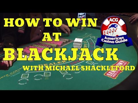 How To Win At Blackjack 21 With Gambling Expert Michael Wizard Of Odds Shackleford Youtube Blackjack Casino American Casino