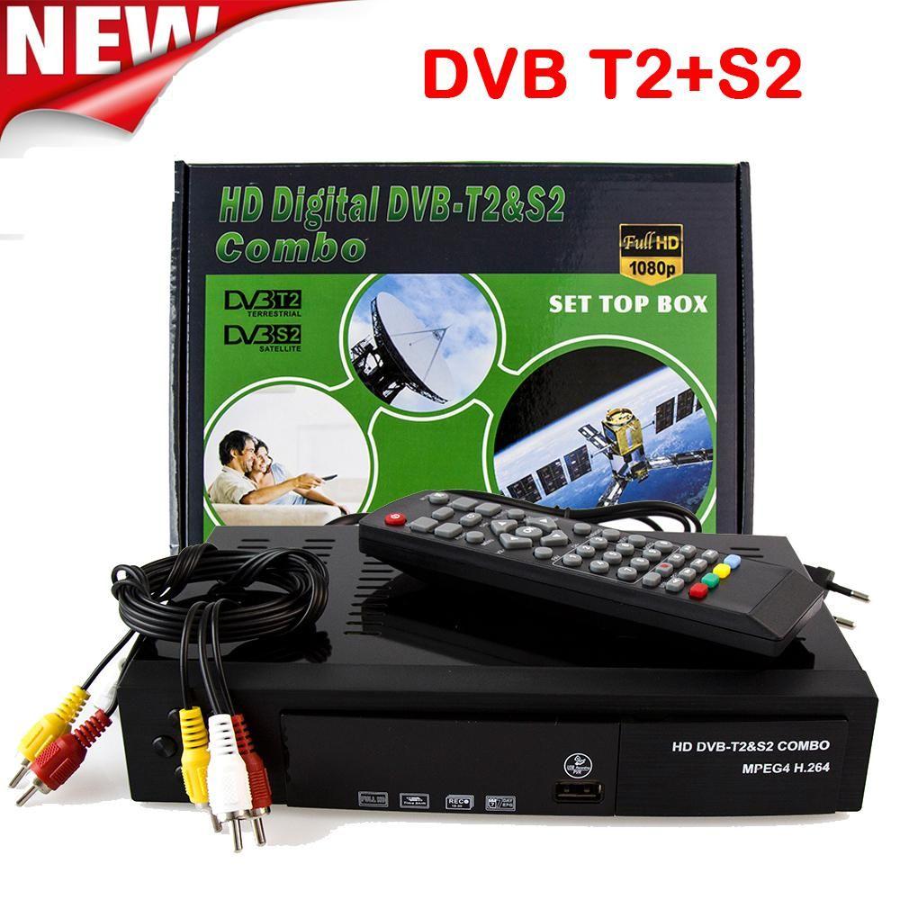 2018 Satellite Receiver Hd Digital Dvb T2 S2 Tv Tuner Receivable Mpeg4 Dvb T2 Tv Receiver T2 Tuner Free Shipping Support Bisskey Dvb T2 Digital Tv Tuner