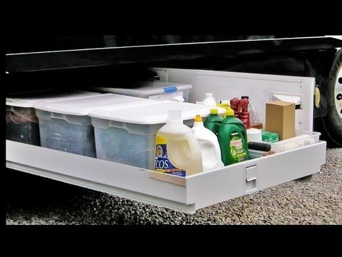 How To Organize An Rv Basement Great Idea Tips I Like This Rv Storage Rv Organization Travel Trailer Organization