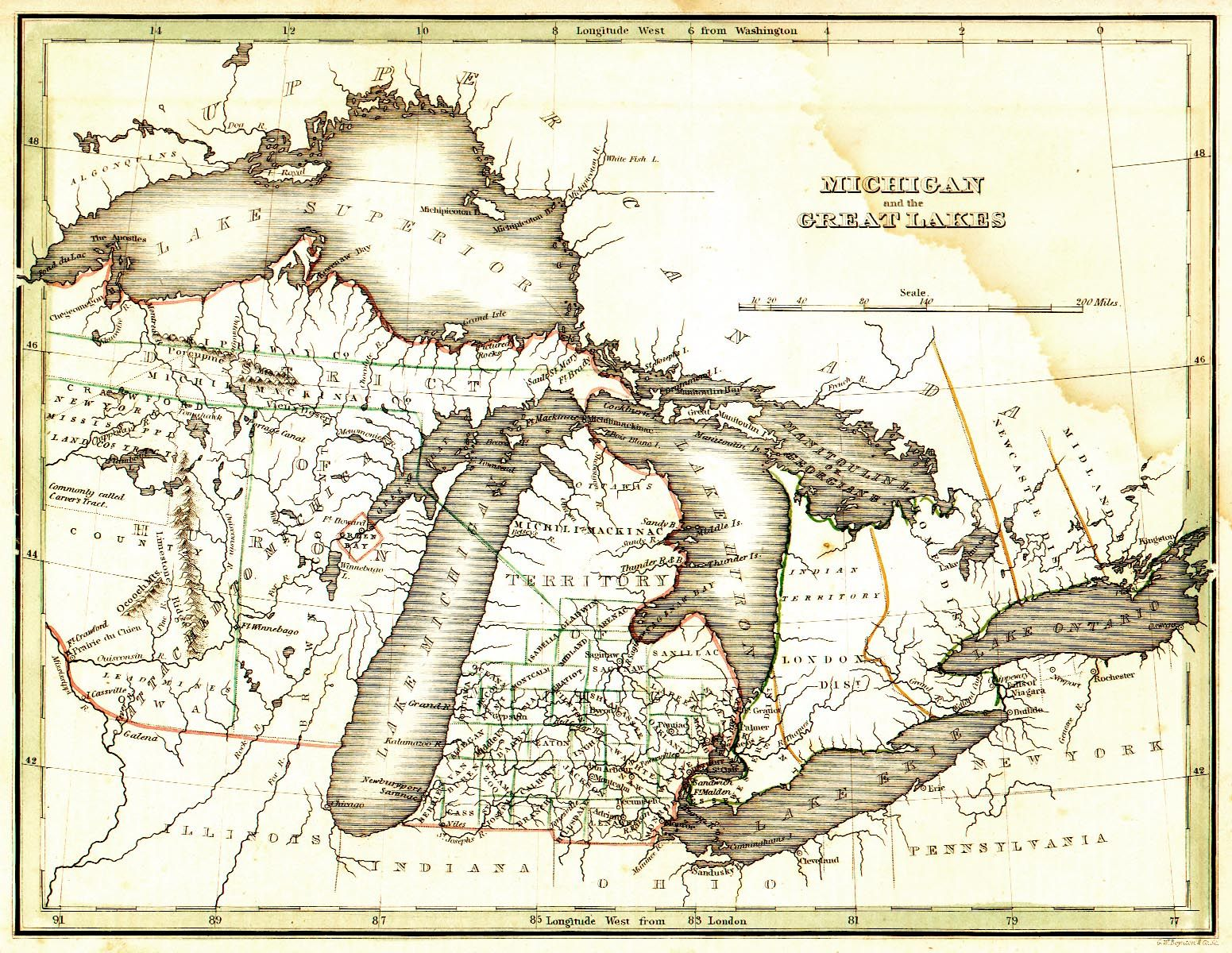 Explore Old Maps Great Lakes And More