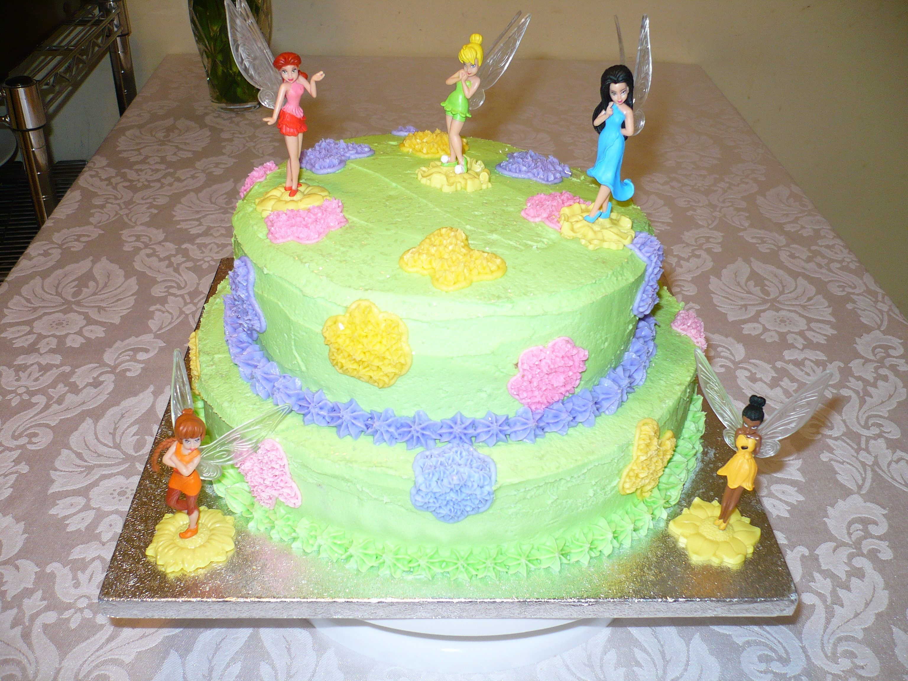 Tinker Bell Birthday Cake Vivi S Birthday Next Year