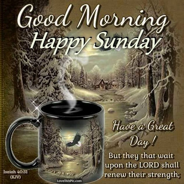 Sunday Morning Religious Quotes: Good Morning Sunday Inspirational Bible Verse Good Morning