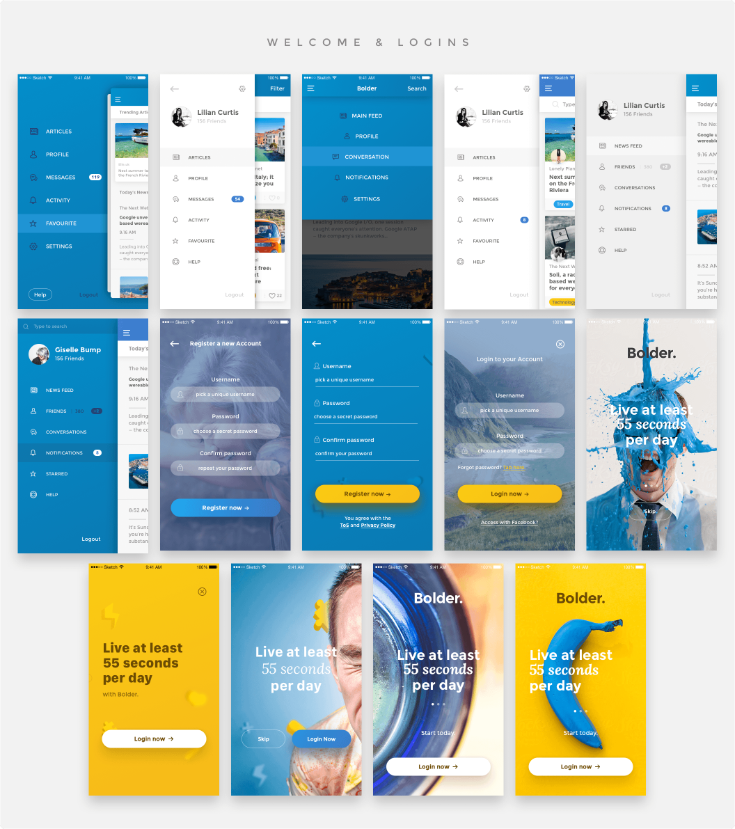 This Amazing Package Of 65 HQ Mobile Templates Will