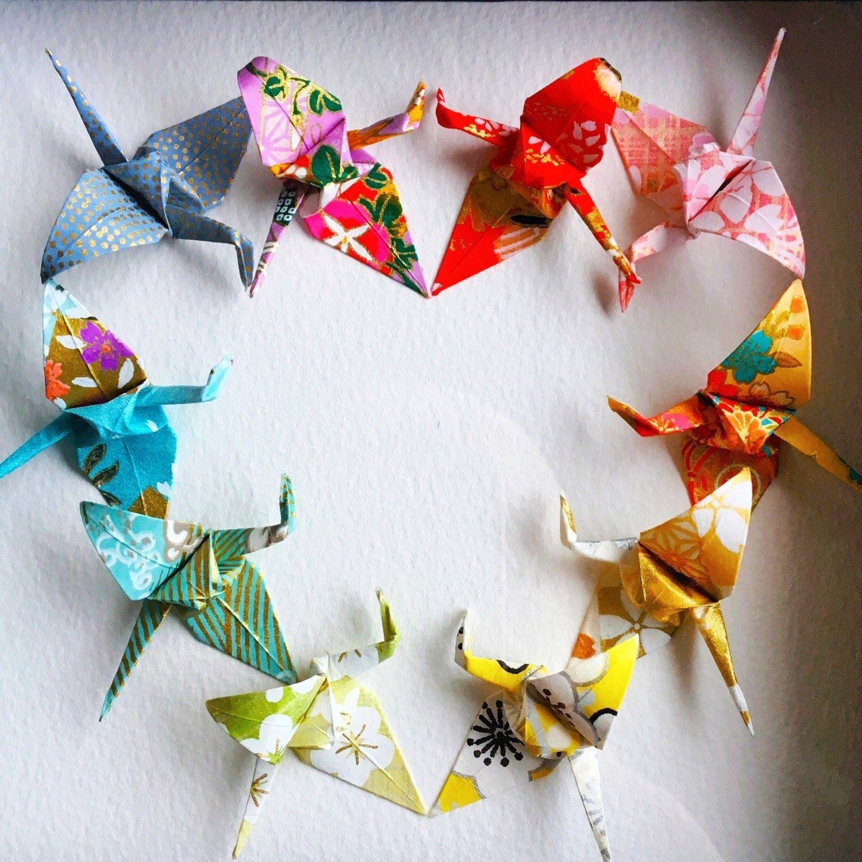 Japanese Paper Wall Art, Japanese Paper Art, Origam Paper ... - photo#6