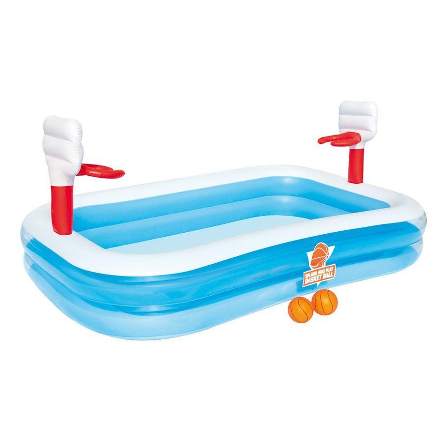 Bestway 54122 Inflatable Kiddie Paddling Pool Basketball