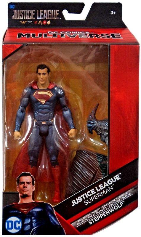 Dc Justice League Movie Multiverse Steppenwolf Series Superman Action Figure Movie Superman Action Figure Action Figures New Justice League Movie