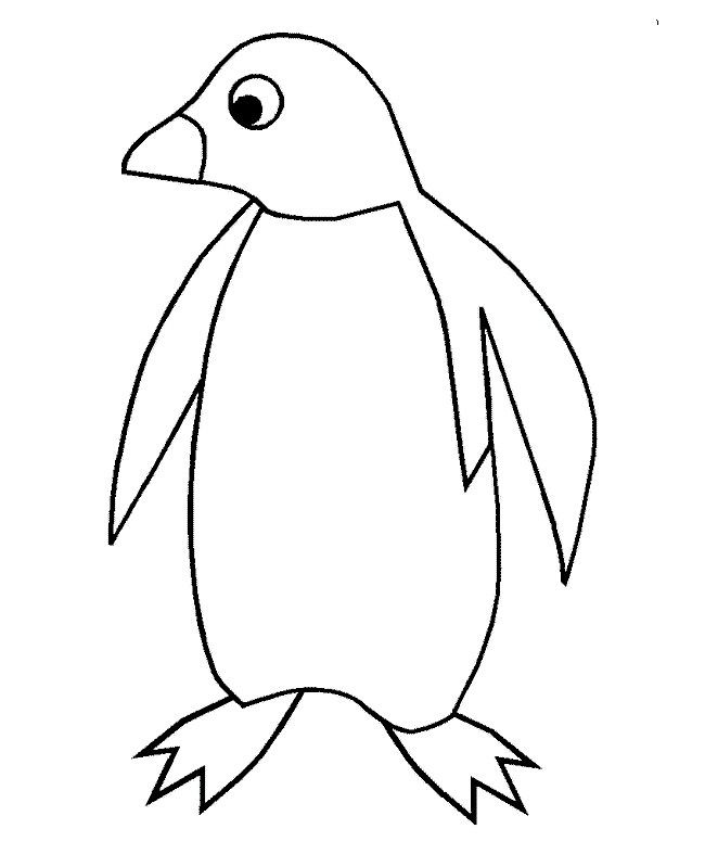 Penguin-Template-15jpg (650×787) P S - Winter - Art Pinterest - penguin template