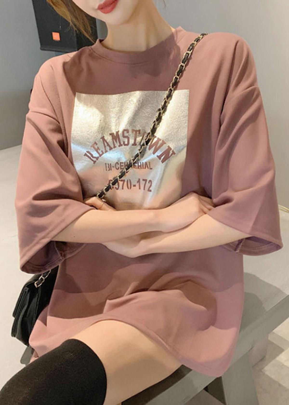 [HCM][Kèm video thật] Áo thun nữ ao thun nu áo thun nữ form rộng giấu quần REAMSTOWN mẫu Hot nhất năm nay