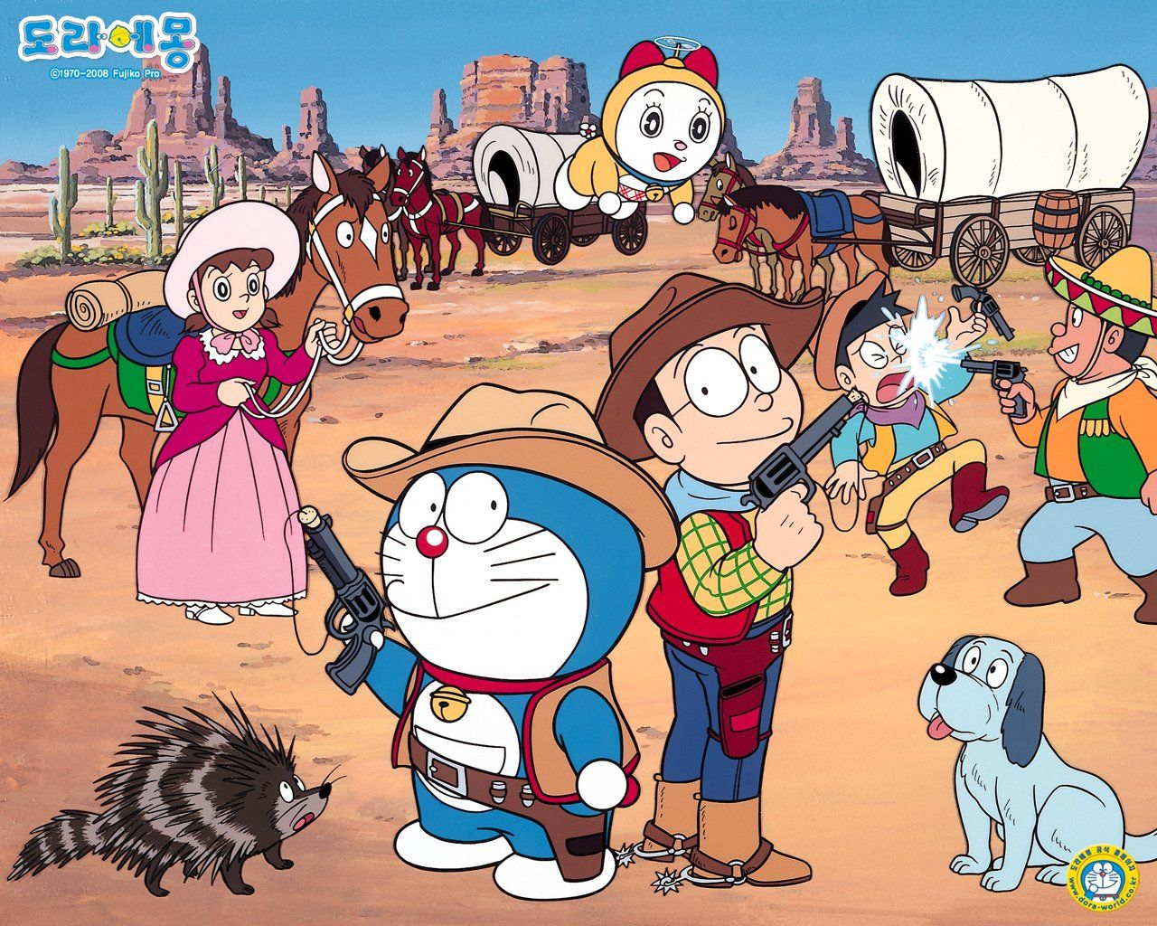 Doraemon Wallpaper and Background Image | 1280x1024 | ID:488534