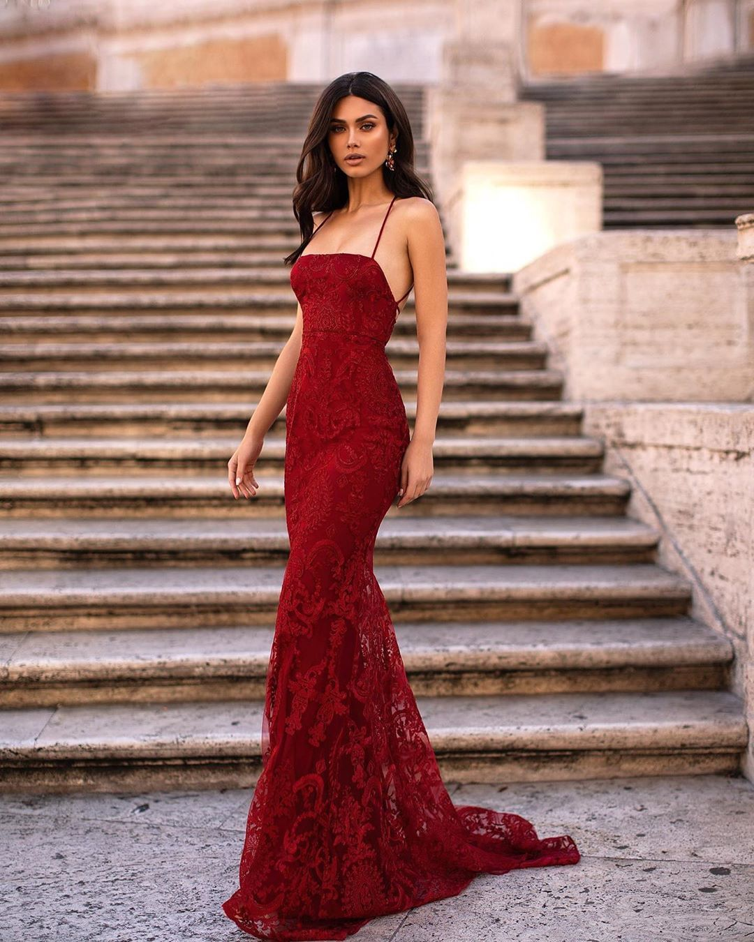 Alamour On Instagram This Week Shipment Is Almost Sold Out From The New Rome Collection Secure Your Dream G In 2020 Red Wedding Dresses Ball Dresses Red Ball Gowns