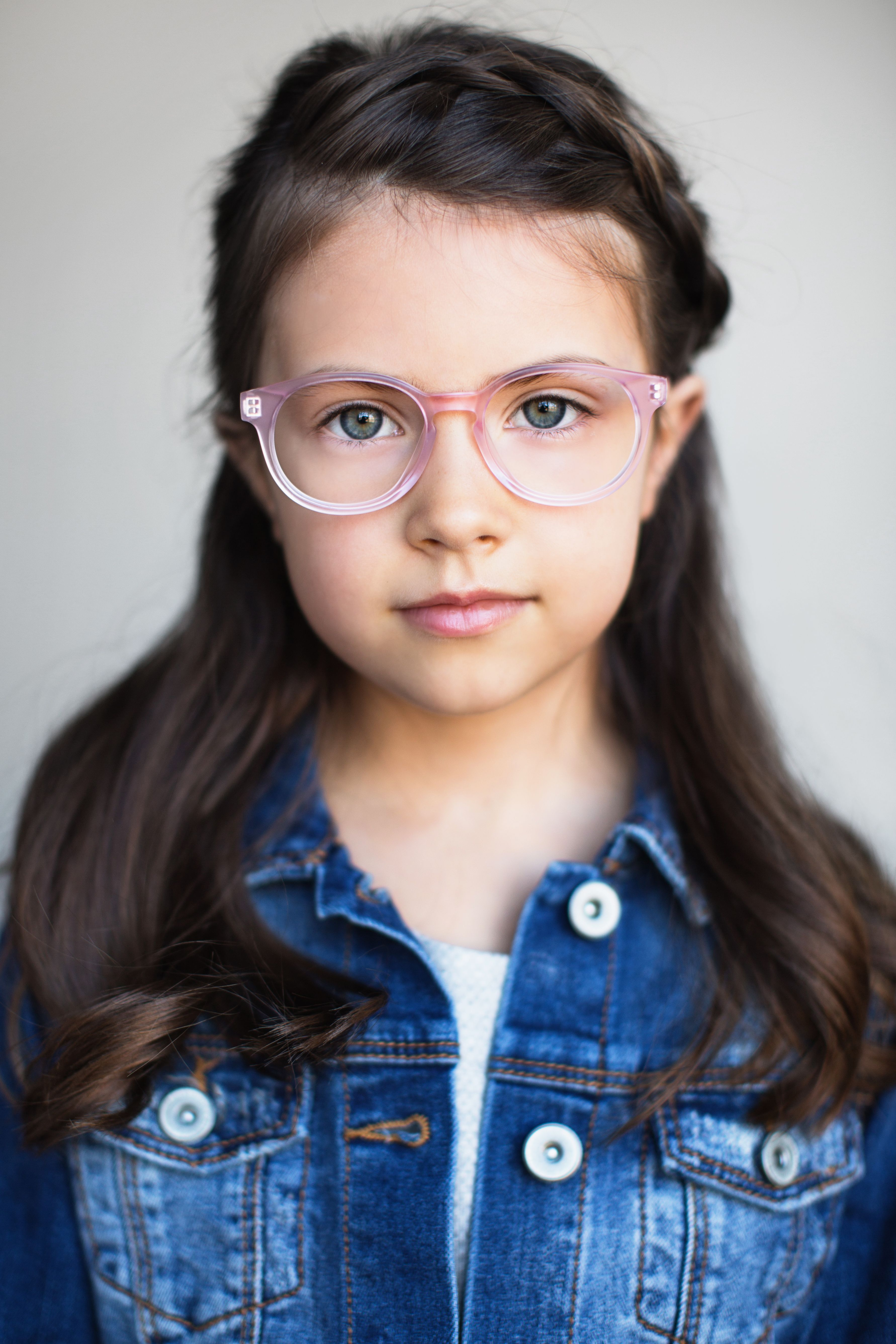 699ad7c46 Limited Edition Kids Glasses // The Paige Blush Pink Matte // Our refined  collection of cool glasses for kids was created for children who care about  ...