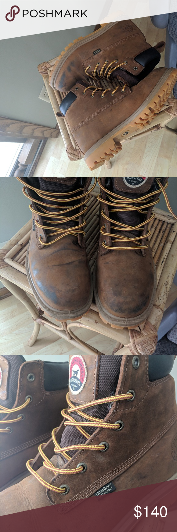 Red Wing Irish Setter work boots Boots, Work boots