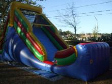 Rainbow Slide 16 Bounce House Waterslide Wet Or Dry Roo S Wet Or Dry Slides Jacksonville Florida Bo Bounce House Rentals Bounce House Jacksonville Florida