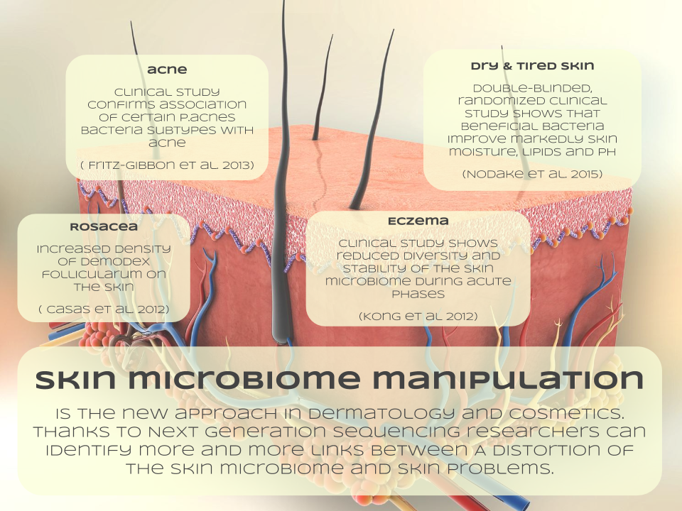 Skin Microbiome Manipulation | Skin health, Microbiome ...