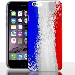 Coque iPhone 7 Drapeau Francais ( Rigide / Silicone ) 4.7