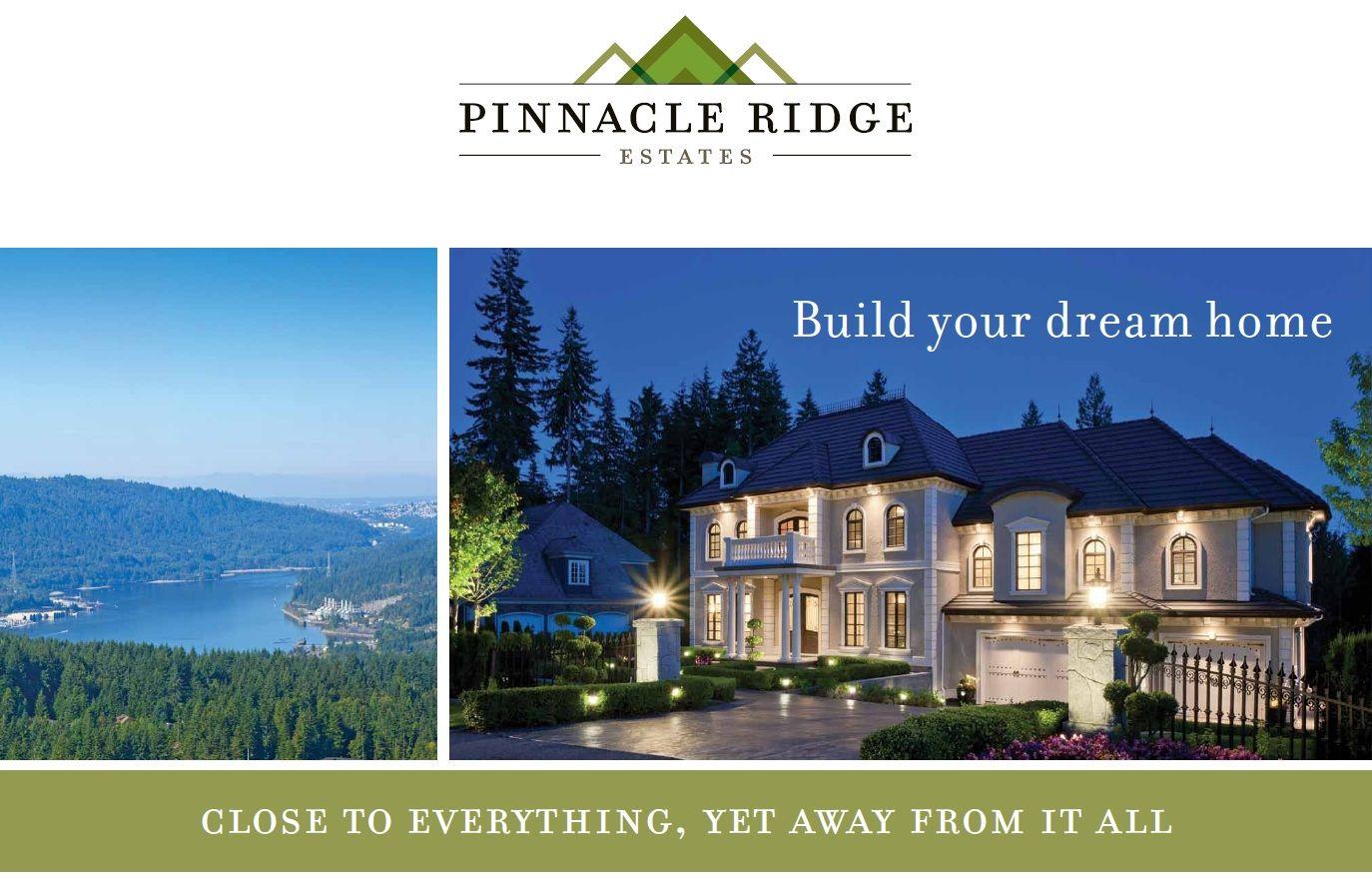 New Pinnacle Dream Homes