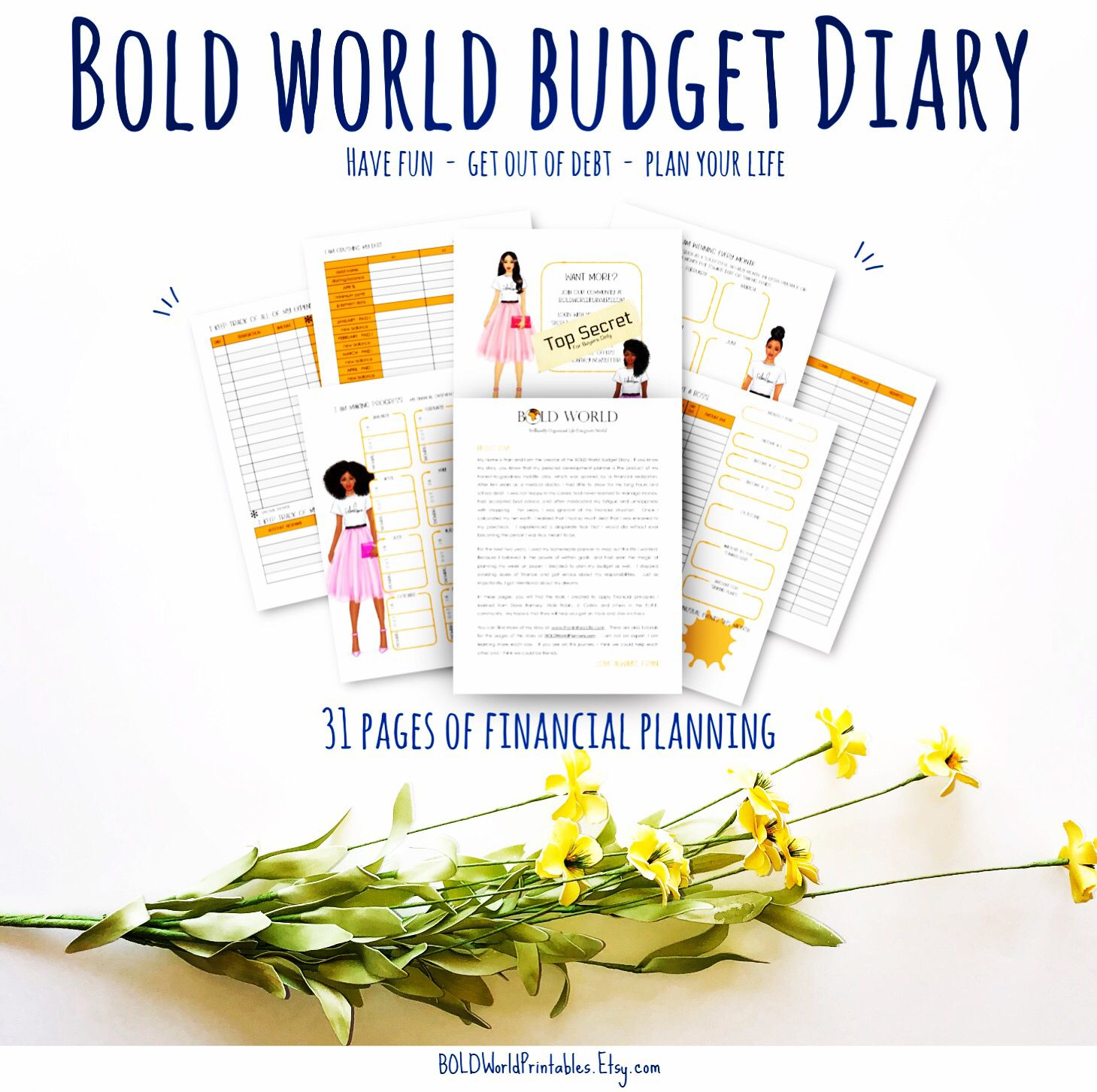 Budget Diary Financial Planner