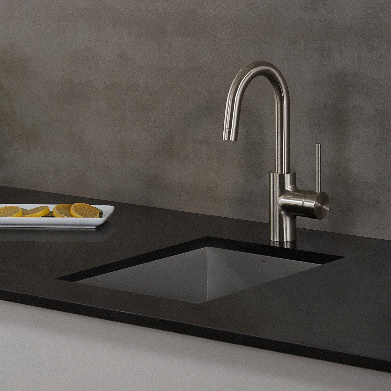 Kraus KPF 2600SS Modern Oletto Single Lever Kitchen Bar Faucet