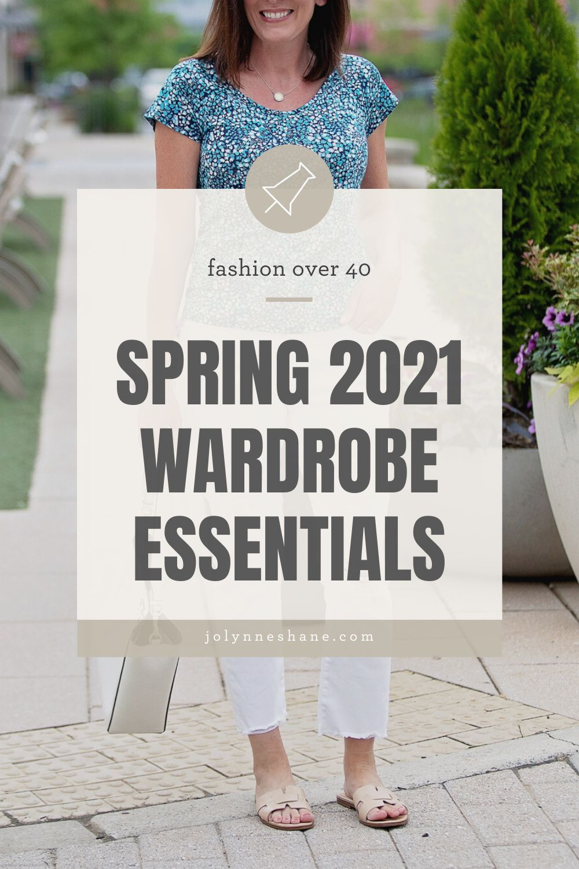 5 Spring Wardrobe Essentials in 5  Spring wardrobe