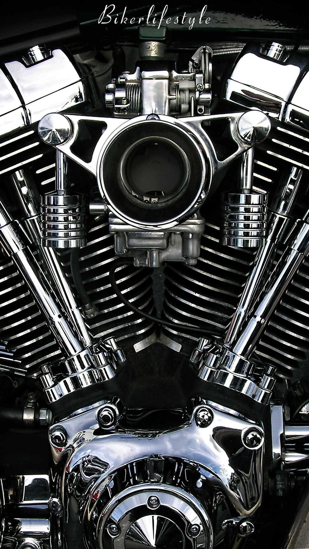 Chrome Bike Wallpaper Motorcycle wallpaper, Harley