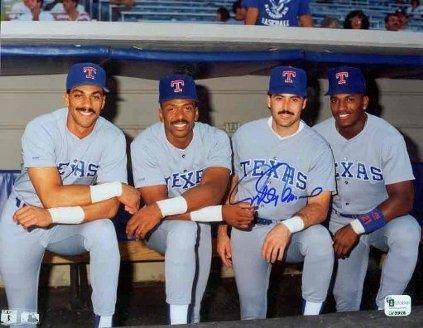 Texas Rangers Juan Gonzalez Julio Franco Rafael Palmero Ruben Sierra Texas Rangers Texas Rangers Baseball Texas Baseball
