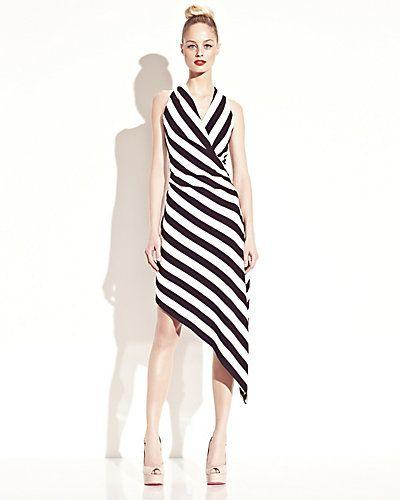 Betsey Johnson Striped Halter dress