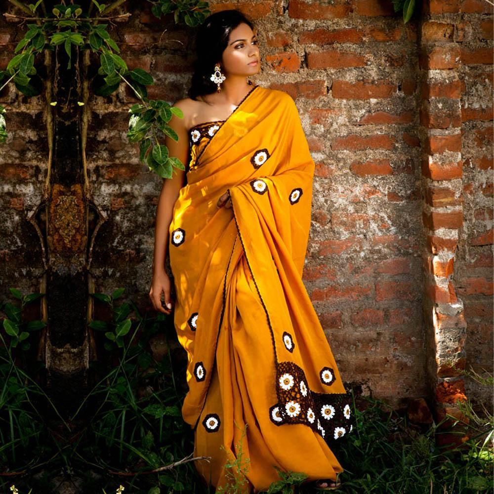 Yellow cotton saree for wedding pin by sarisisters on Красивые Сариjust beautiful sarees