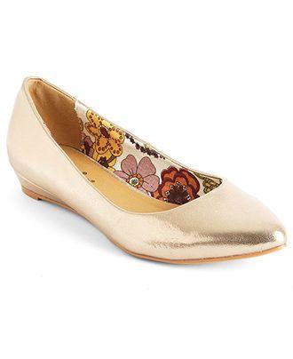 2 Lips Too Shoes, Too Sliver Demi Wedge Flat - Shoes - Macy's