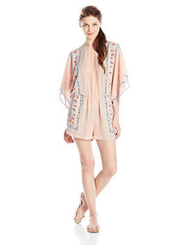 BCBGMAXAZRIA Women\'s Caiti Kimono Sleeve Romper, http://www.amazon ...