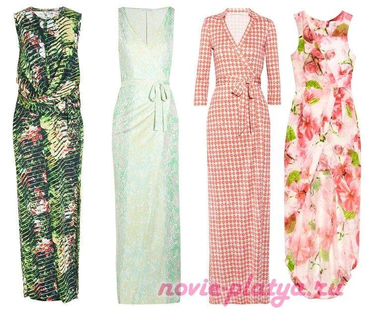 Скачать выкройки платья с запахом