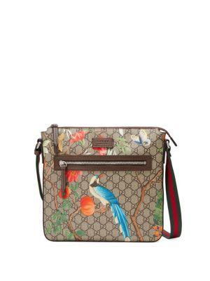 78f9d77b4811 GUCCI Gucci Tian Gg Supreme Messenger Bag. #gucci #bags #shoulder bags # lining #canvas #nylon #suede #