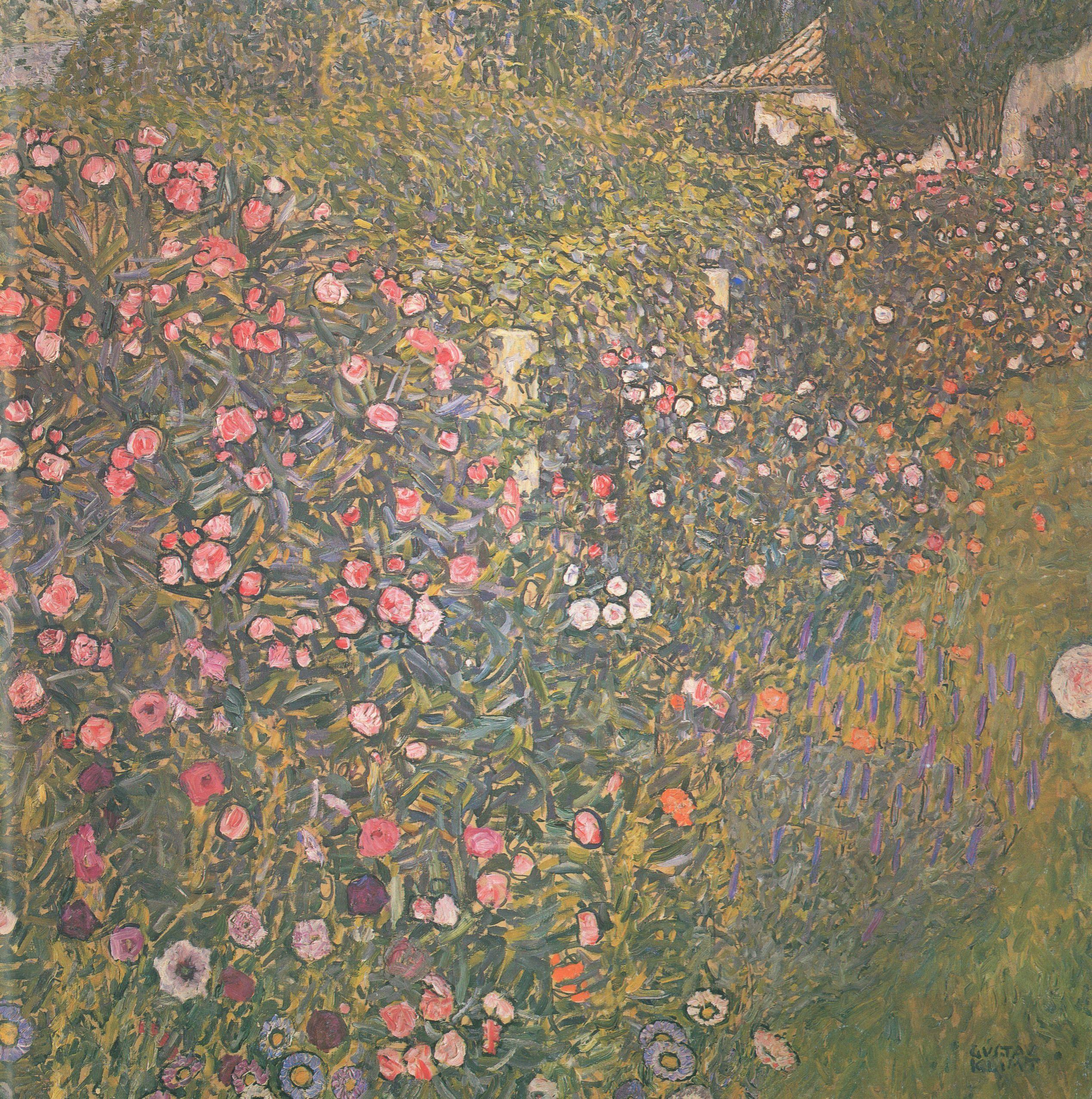 Gustav Klimt Landscapes Italian Horticultural Landscape Gustav Klimt Klimt Klimt Paintings