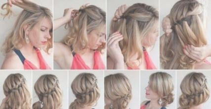 Frisuren 2018 Frauen Mittellang Flechten Mittellange Haare