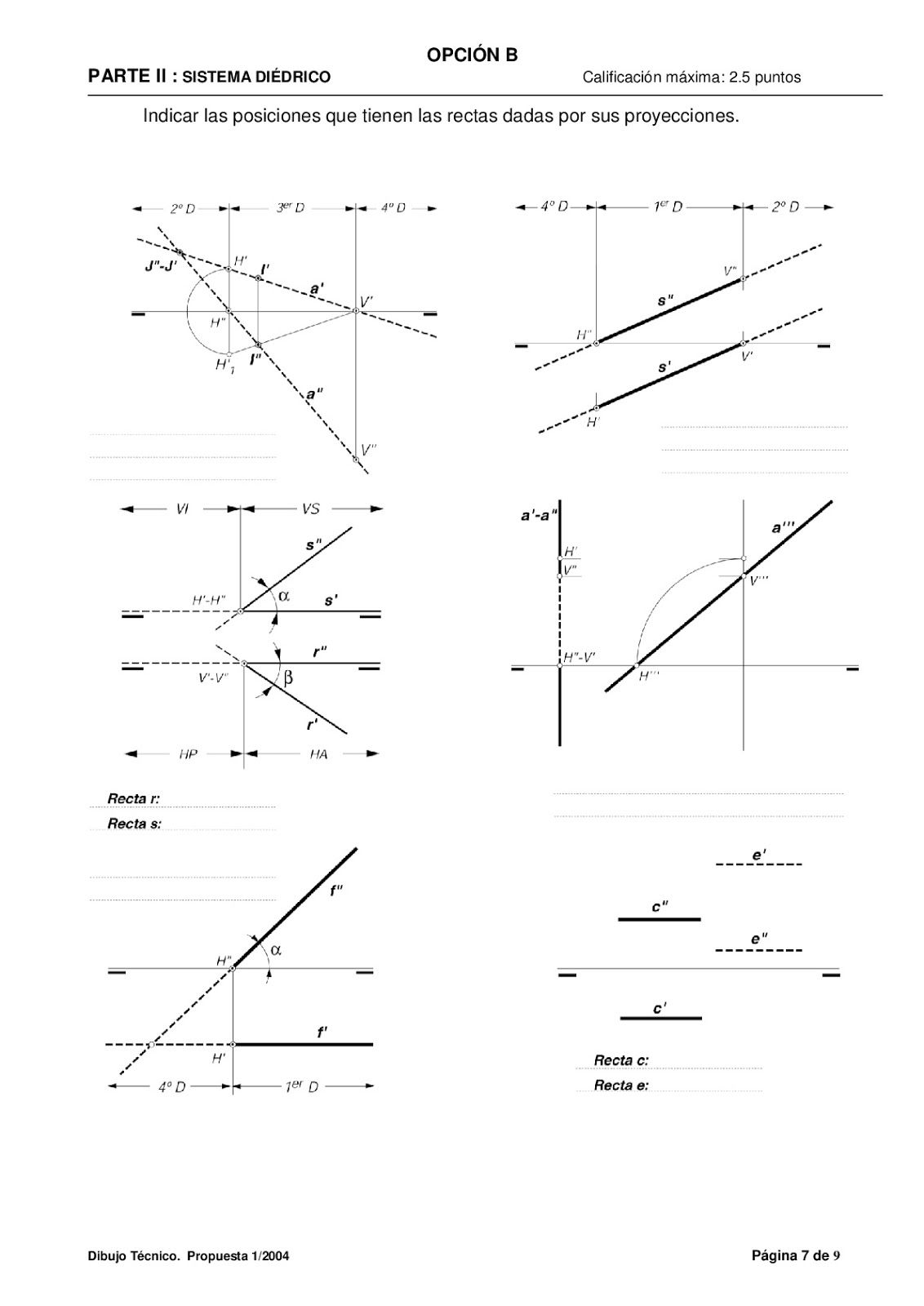Examenes De Evaluacion Bachillerato Dibujo Tecnico Para El Acceso A La Universidad Ebau 2018 Co Dibujo Tecnico Bachillerato Bachillerato Tecnicas De Dibujo
