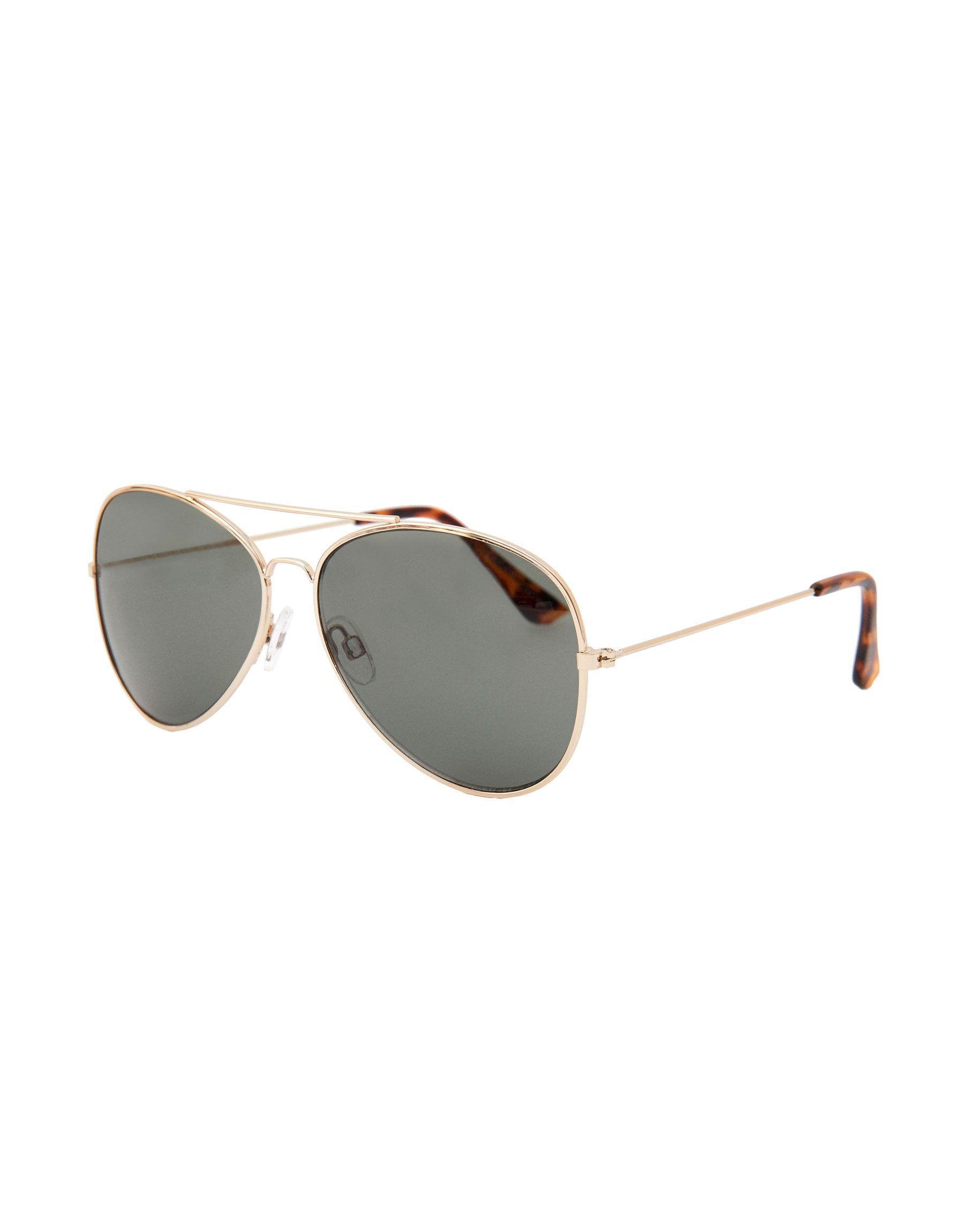 atarse en tiendas populares lindos zapatos Gafas sol aviador dorado | Products in 2019 | Glasses ...