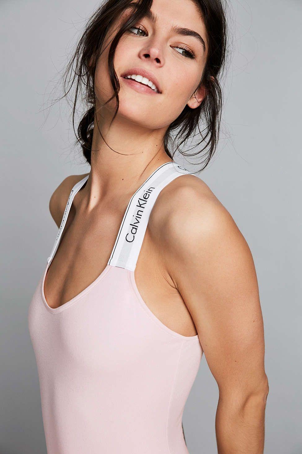 470837dd089db6 Calvin Klein Modern Cotton Bodysuit - Urban Outfitters