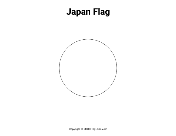picture relating to Japan Flag Printable known as Pin by means of Muse Printables upon Flags - Flag Pictures and Coloring