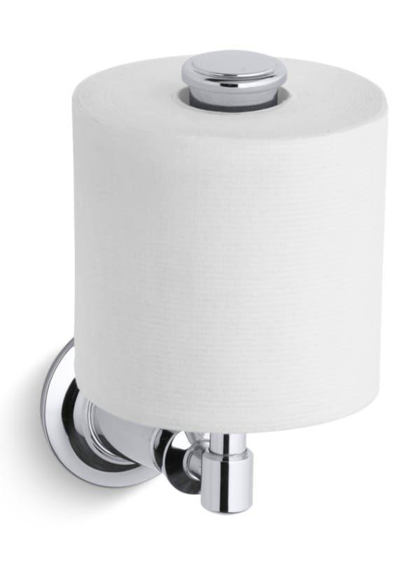 Kohler K 11056 Archer Vertical Toilet Paper Holder Polished Chrome