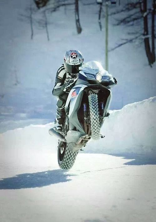 spikes - repined by http://www.motorcyclehouse.com/ #MotorcycleHouse- this is bad ass!