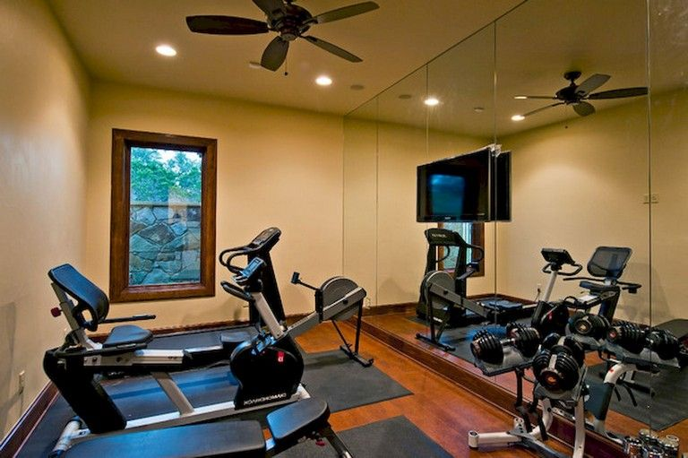 Cold home gym ideas decoration on a budget for small room