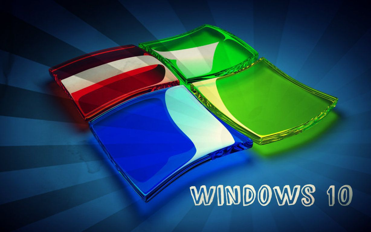 3D Windows 10 Logo Hd Wallpaper