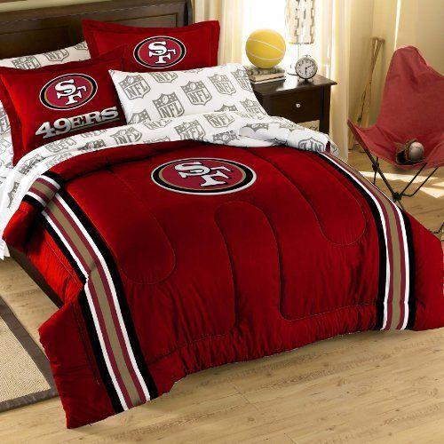 Nfl San Francisco 49ers Bedding Set By Northwest 84 11