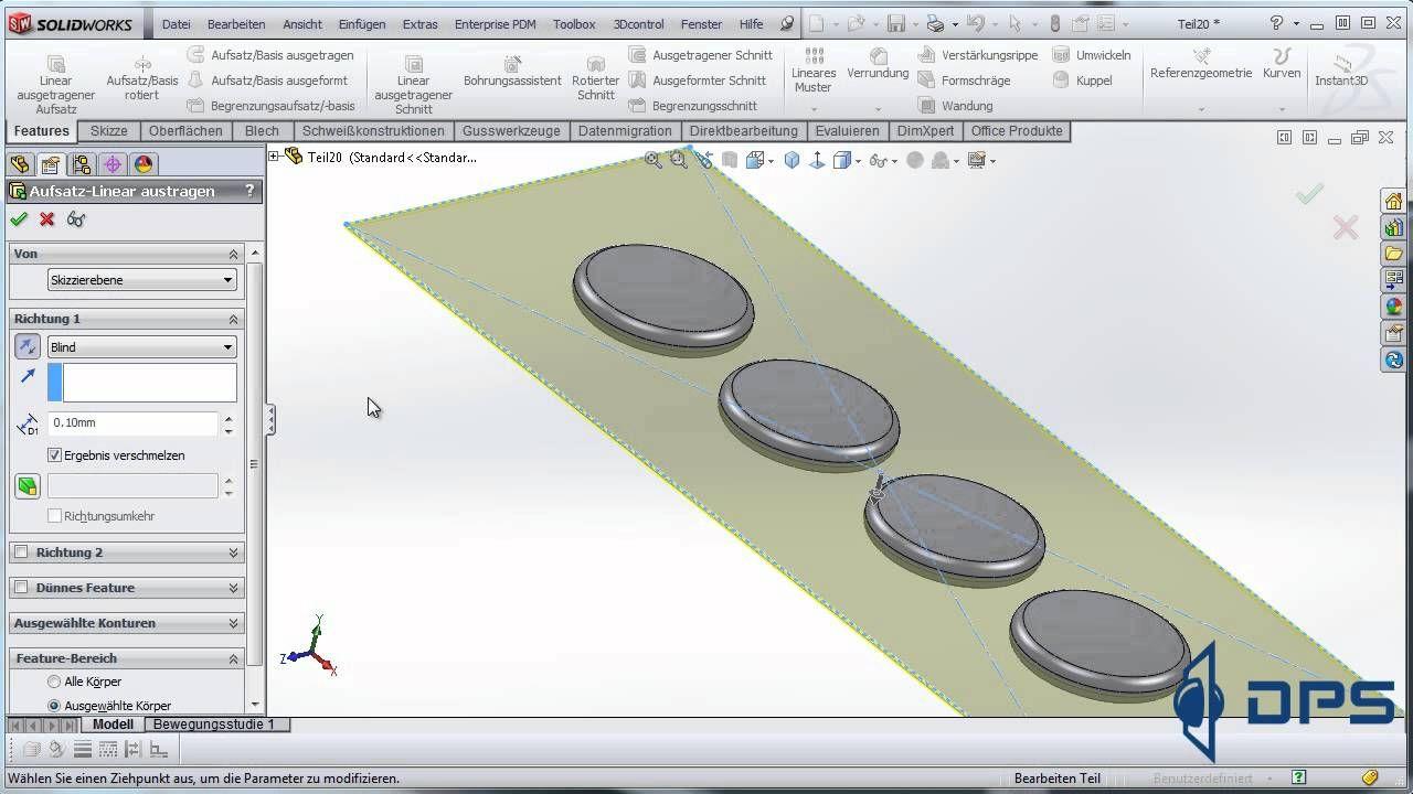Solidworks Tutorial Multibody Techniken 2 Solidworks