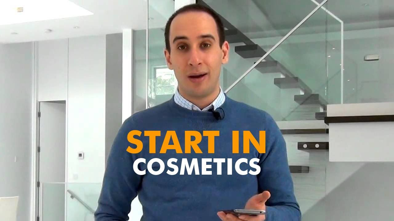 Cosmetics industry how to start a cosmetics line with