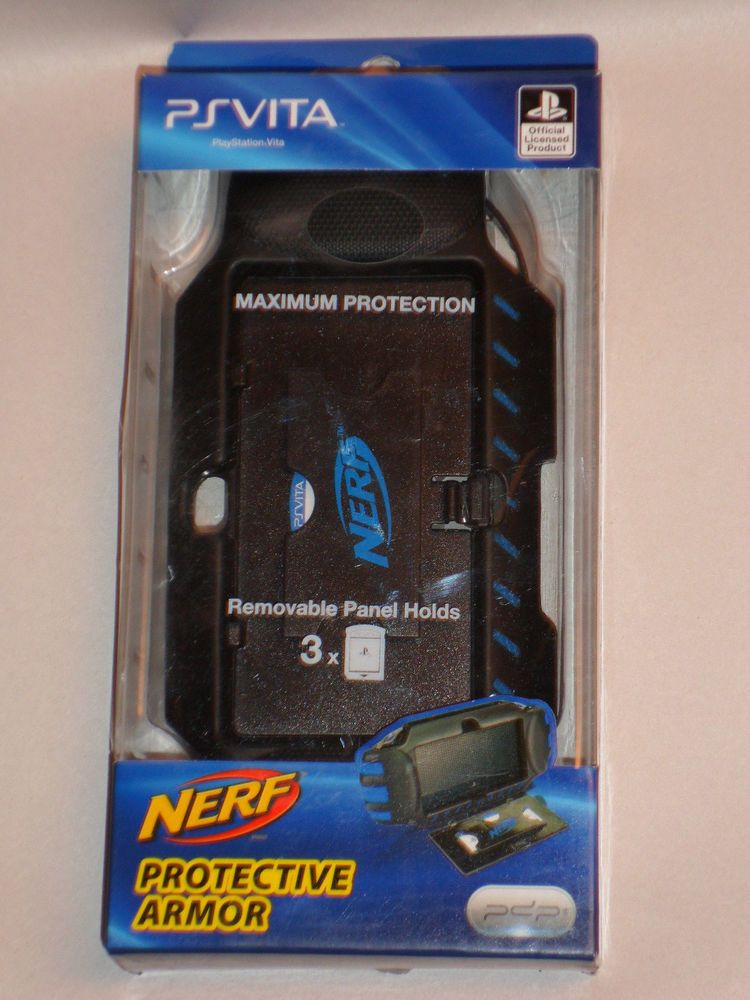 Ps Vita Playstation Nerf Armor Protective Shell Case New Nerf Psv